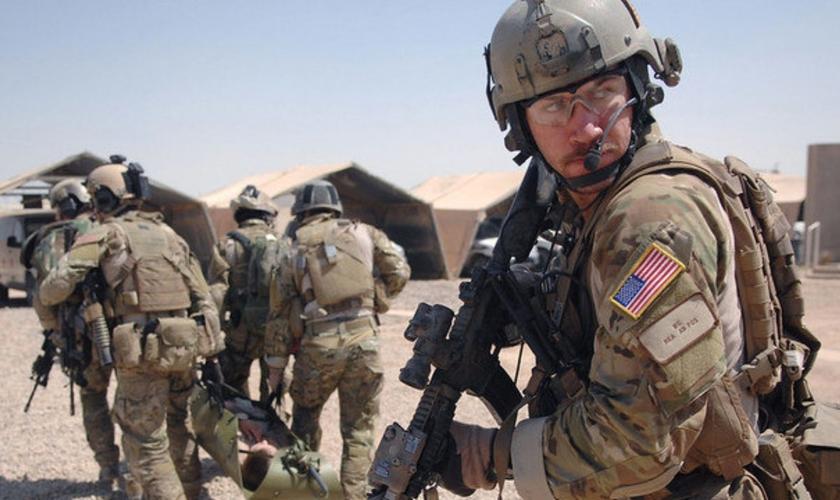 Soldados americanos podem deixar o Iraque até o final de 2021. (Foto: Reprodução: Depto de Defesa dos EUA)