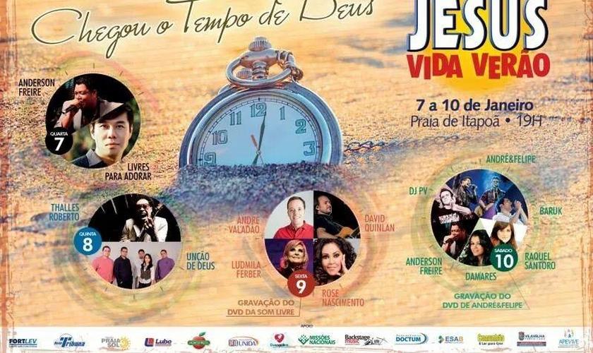 Divulgação - Jesus Vida Verão 2015