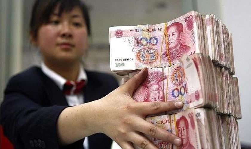 Mercados mundiais entraram em pânico diante do enfraquecimento econômico da China. (Foto: Reprodução)