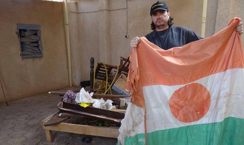 Missionário Xandy, dos Guerreiros de Deus foi um dos pastores que teve sua igreja e também sua casa destruídas em janeiro deste ano.