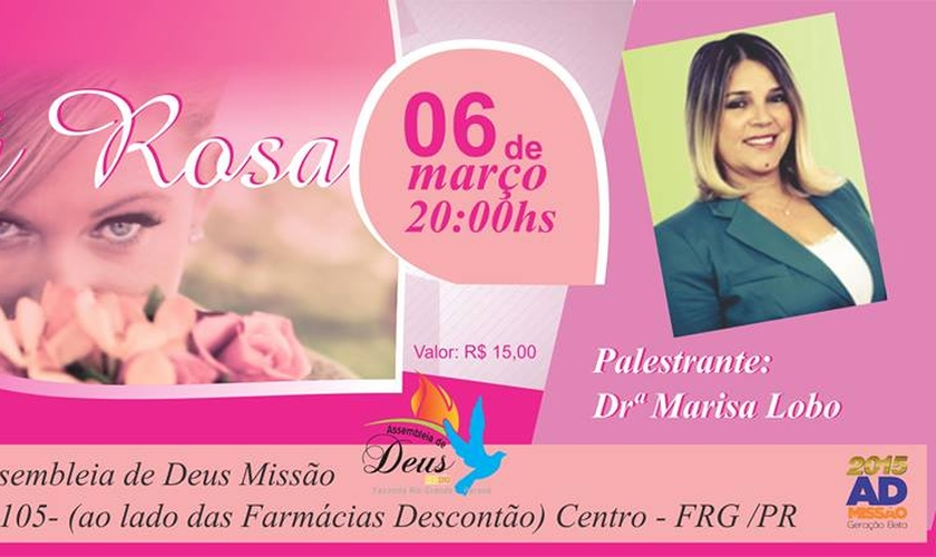 A psicóloga tem viajado por todo o Brasil ministrando palestras em diversas áreas.