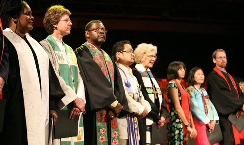 Líderes da Igreja Presbiteriana dos EUA se apresentam em Assembleia Geral