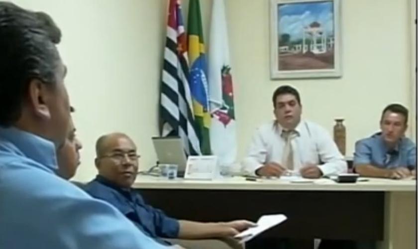 Líderes evangélicos foram pessoalmente à Câmara Municipal de Itaberá, pedir que o Projeto de Lei fosse revisto.