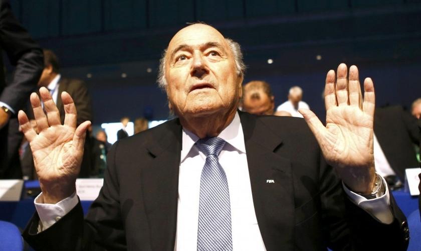 Presidente da FIFA, o suíço Joseph Blatter. (Reuters/ Leonhard Roeger)