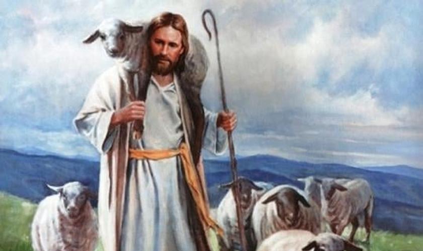 """Jesus, o Bom Pastor, disse que somente suas """"ovelhas"""" ouviriam sua voz"""