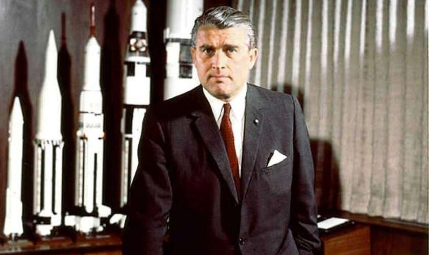 Wernher von Braun, considerado o pai da ciência de foguetes, confrontou a própria ciência com a fé no Criador.