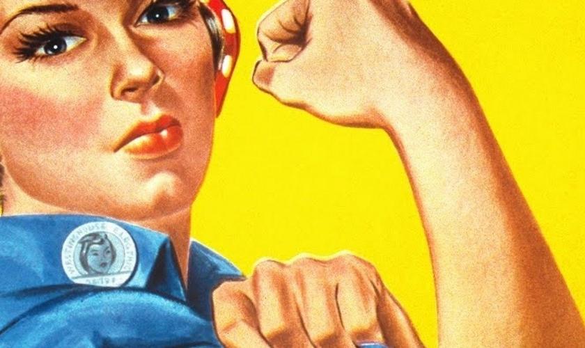 Ícone emblemático do movimento feminista. (Foto: Epic Times)