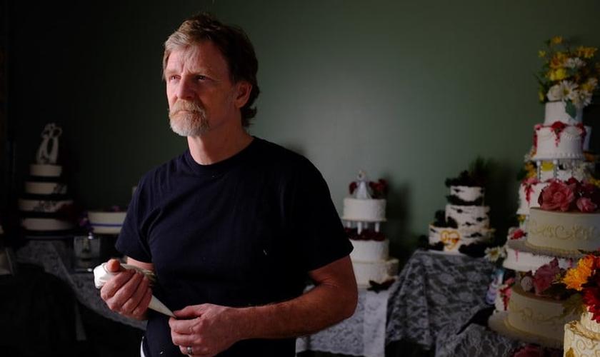 Jack Phillips é dono da confeitaria Masterpiece, no estado do Colorado (EUA).