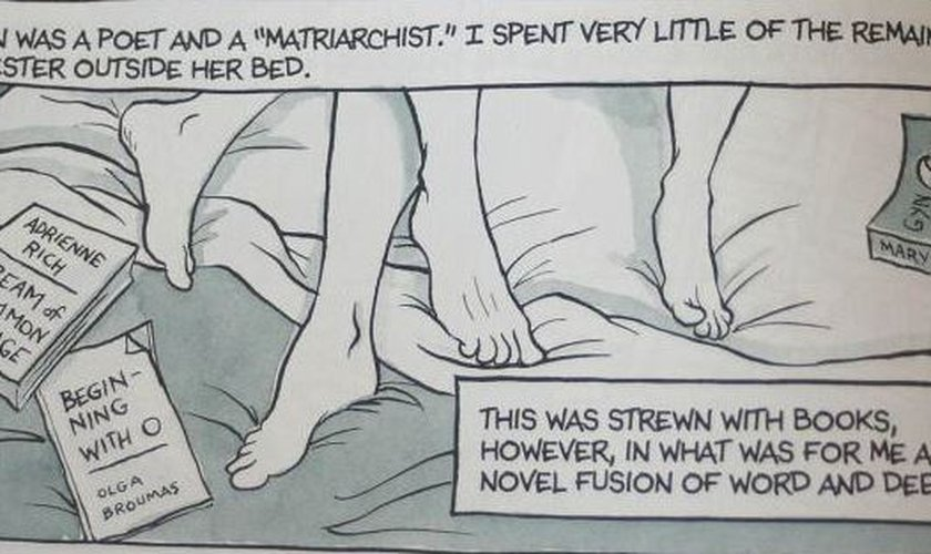 """o livro traz ilustrações """"sugestivas"""" e também mais evidentes com relação ao ato sexual."""