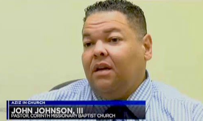 Pastor John Johnson III, da Igreja Batista Missionária de Corinto em Bullard, no Texas. (Foto: KLTV-7)
