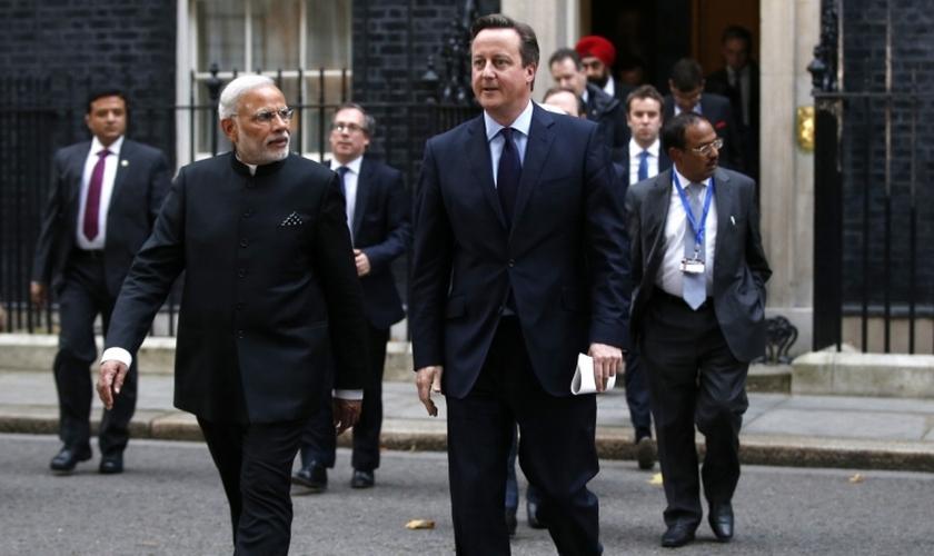 Primeiro-ministro indiano Narendra Modi recusou a entrada da Comissão de Liberdade Religiosa dos EUA. (Foto: Reuters)