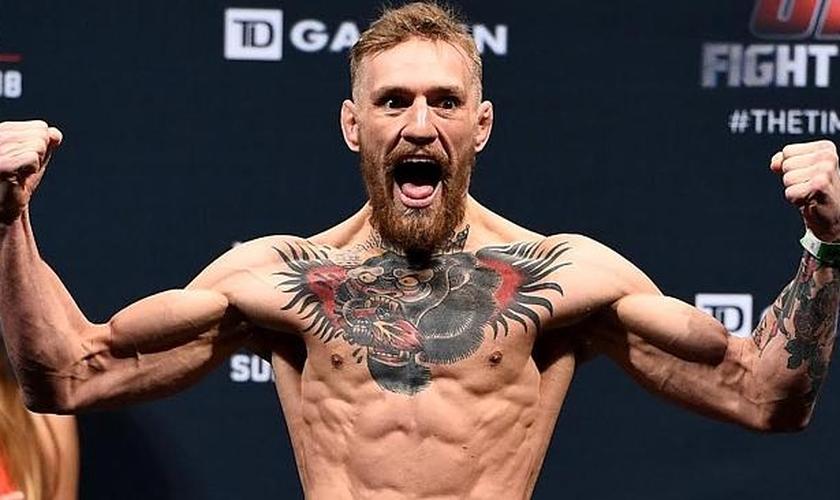O irlandês está prestes a enfrentar José Aldo no UFC 194, em disputa dos cinturões dos penas. (Foto: Reprodução)