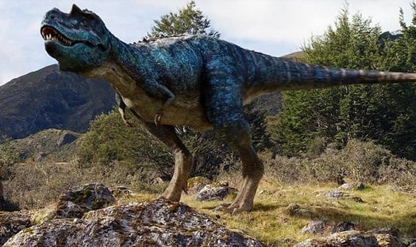 Pesquisador explica que os dinossauros são animais terrestres criados no sexto dia da criação. (Foto: Wikipedia)