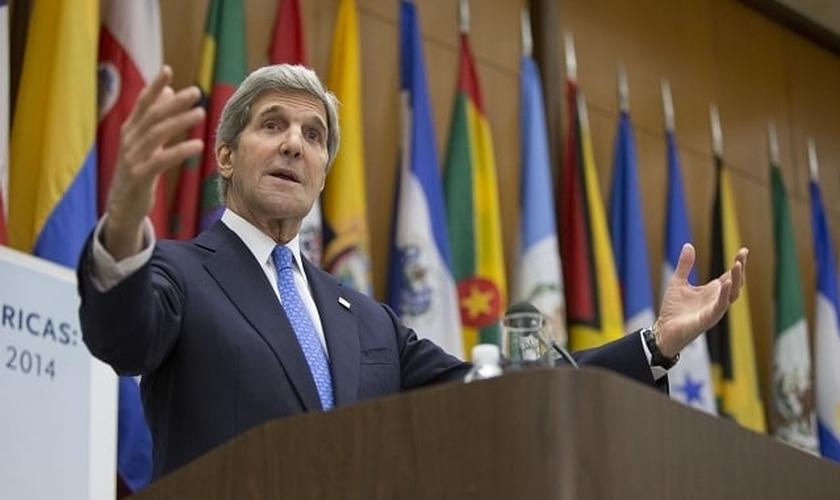 O secretário de Estado americano, John Kerry, irá presidir a reunião. (Foto: Department of State)