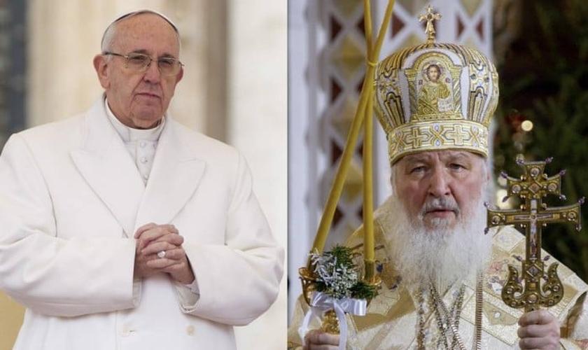 Principal tema da reunião entre Papa Francisco e o Patriarca Kirill deve ser a perseguição a cristãos no Oriente Médio. (Foto: Ivan Sekretarev/ AP)