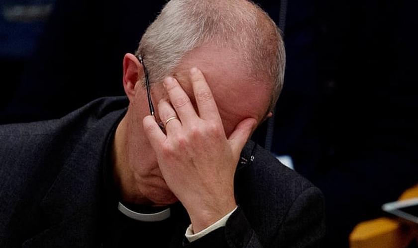 O arcebispo Justin Welby durante o Sínodo Geral da Igreja da Inglaterra. (Foto: Getty Images)