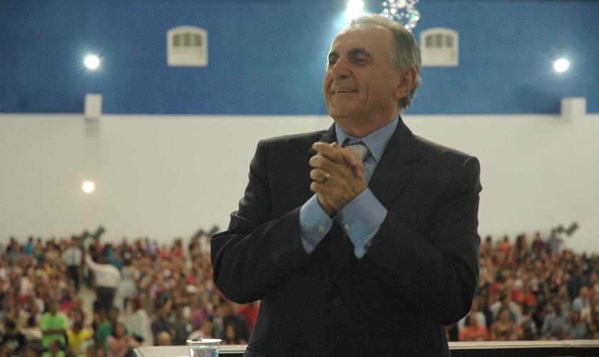 Pr. Luiz Fernandes Bergamin, presidente do Conselho Nacional da Igreja O Brasil Para Cristo. (Foto: Guiame/ Marcos Paulo Corrêa)