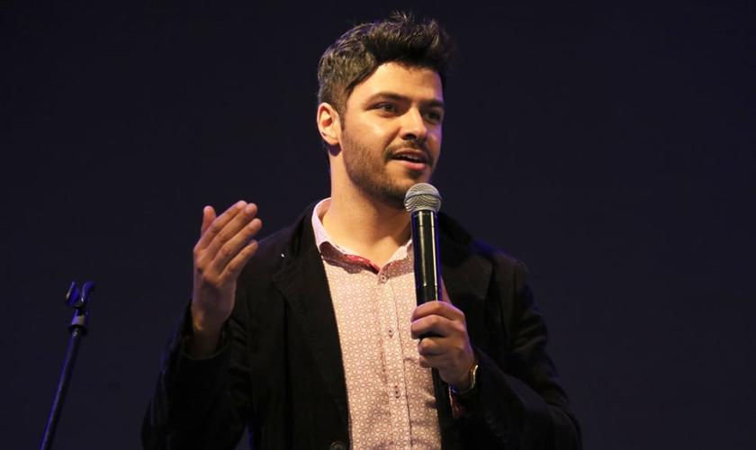 De acordo com o pastor Bruno Lion, o projeto nasceu com um direcionamento de Deus. (Foto: Guiame/ Marcos Paulo Corrêa)