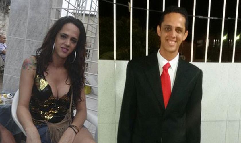 Depois de viver como travesti por mais de 10 anos, Tiago Leite teve a vida transformada. (Foto: Arquivo Pessoal)