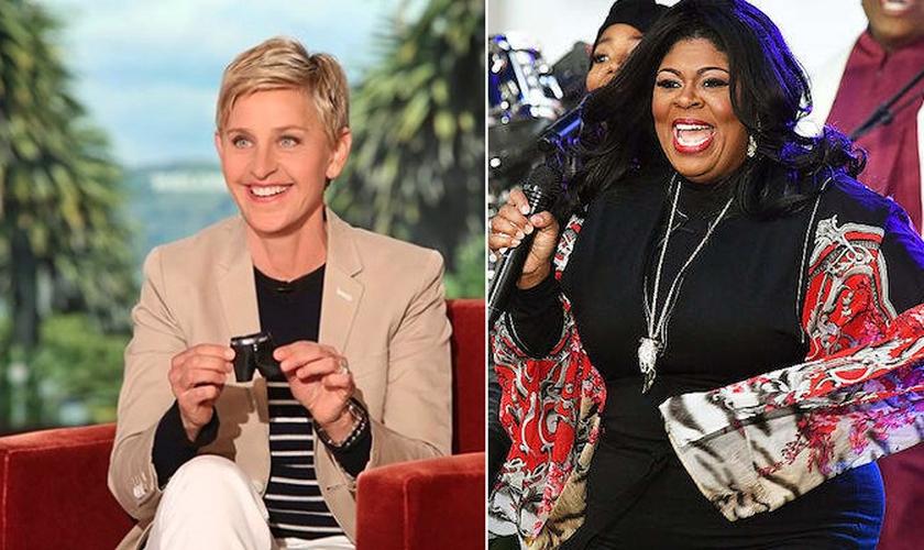 A apresentadora americana Ellen DeGeneres desconvidou a cantora gospel Kim Burrell de seu próprio talk-show. (Foto: Reprodução)