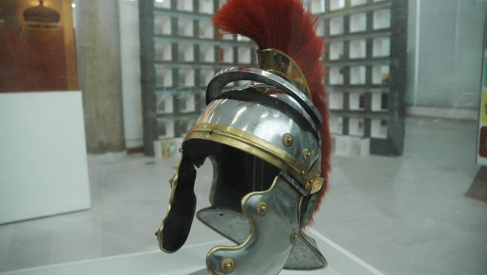 Capacete usado por Soldados Romanos