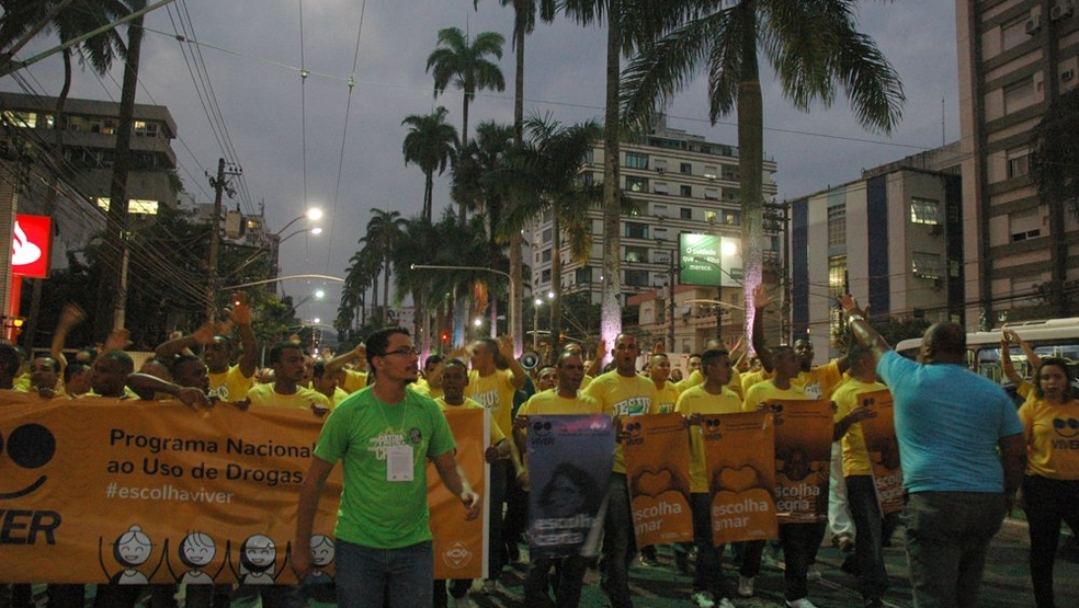 Caminhada do Movimento Viver