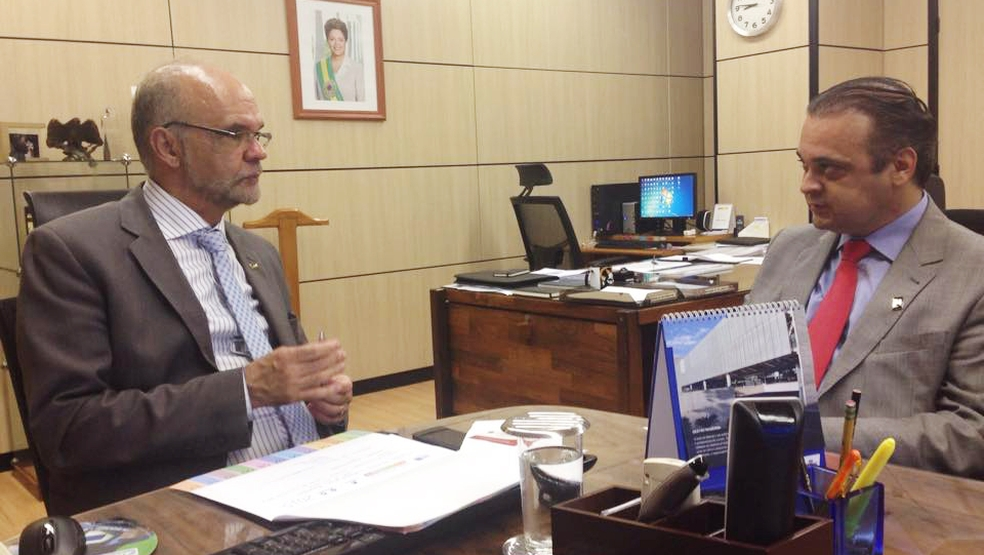 Roberto de Lucena em Brasília
