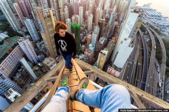 Imagens proibidas para quem tem medo de altura