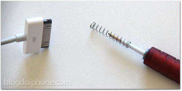 Protetor de cabo para iphone