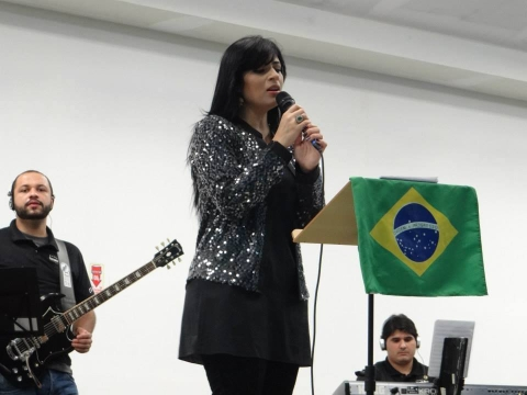 Fernanda Brum_ Gravação CD da Eternidade