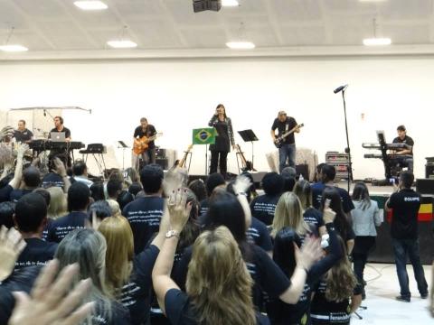 Fernanda Brum_Gravação do CD da Eternidade
