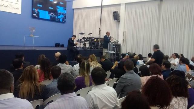 Geraldo Alckmin participa de encontro com pastores, na Igreja El Shaddai