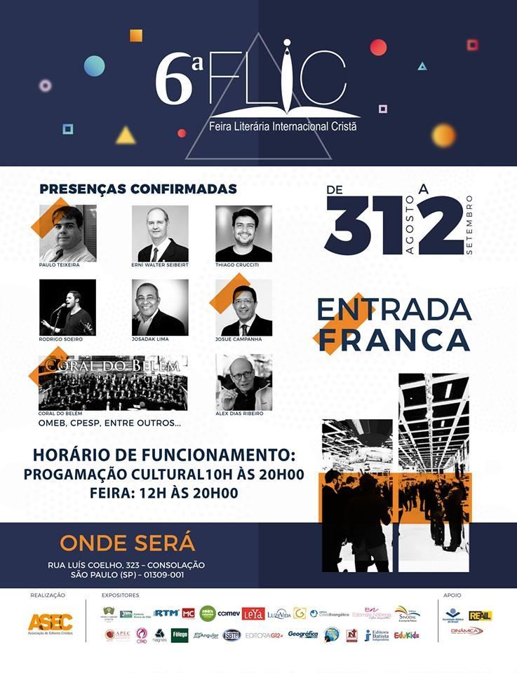 46d22cd7d3baf A feira contará com a presença das melhores editoras do país. (Foto:  Divulgação).