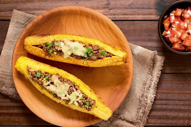 Canoa de banana-da-terra