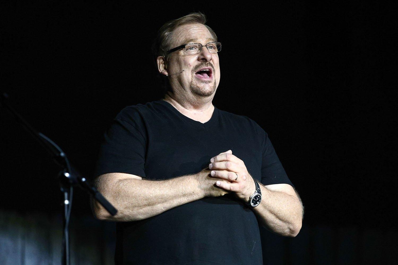 Rick Warren mostra como recomeçar após pecado sexual:
