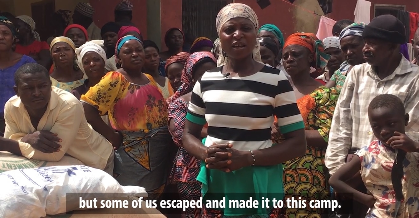 """""""Deus foi fiel e continua sendo até hoje"""", diz cristã sobrevivente de massacre na Nigéria"""