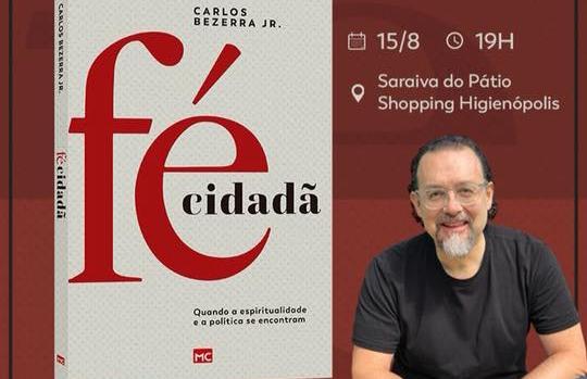 Deputado Carlos Bezerra Jr. lança livro sobre política e religião
