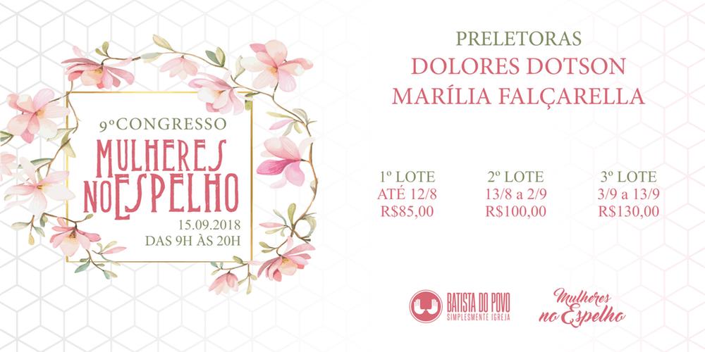 9º Congresso Mulheres no Espelho traz Dolores Dotson ao Brasil