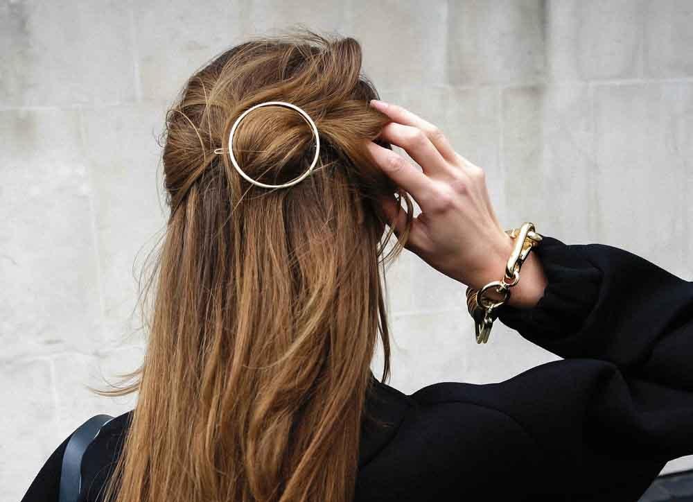 Presilhas de cabelo para se inspirar