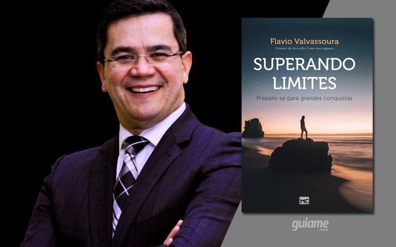 """Pastor e conferencista internacional, Flavio Valvassoura lança o livro """"Superando limites"""""""