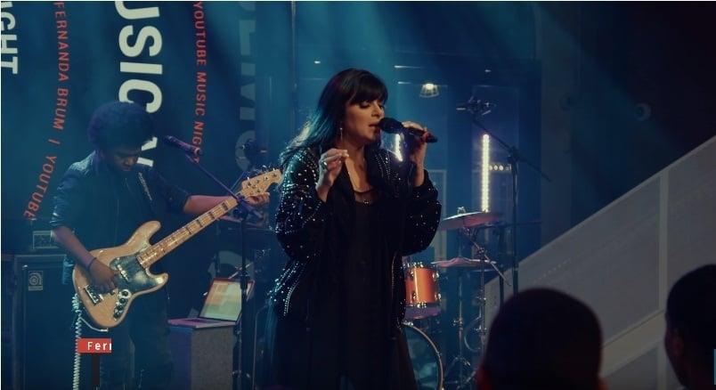 Fernanda Brum lança EP gravado ao vivo, em parceria com o YouTube