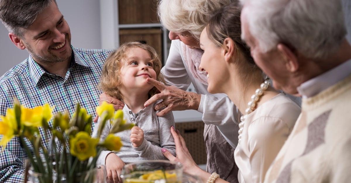 O amor deve ser o coração da família