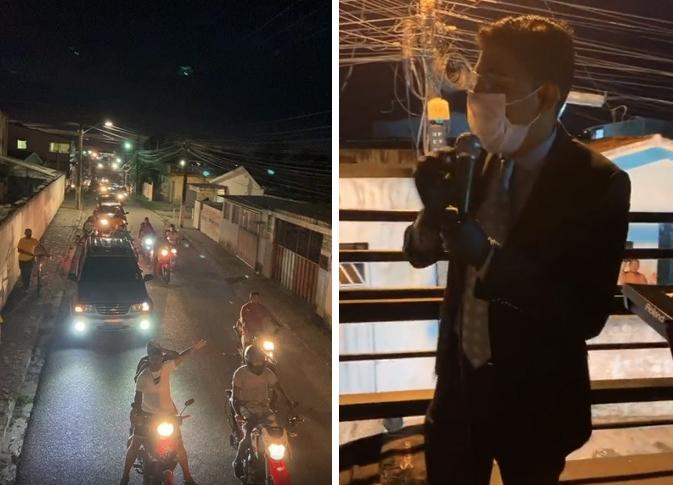 Após ter culto drive-in cancelado, pastor é denunciado pelo MP por usar carros para pregar