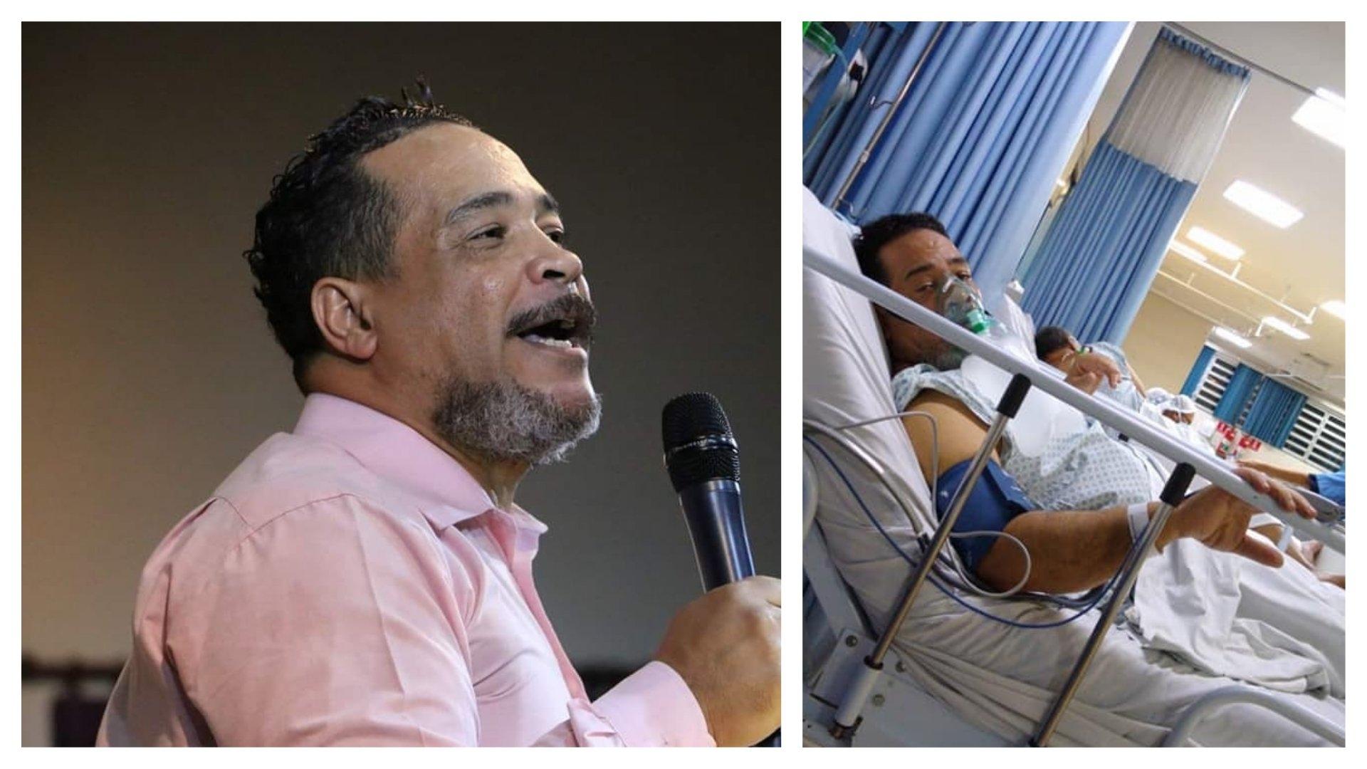 """""""Sou um milagre"""", diz pastor curado da Covid-19 após 32 dias em estado grave na UTI"""