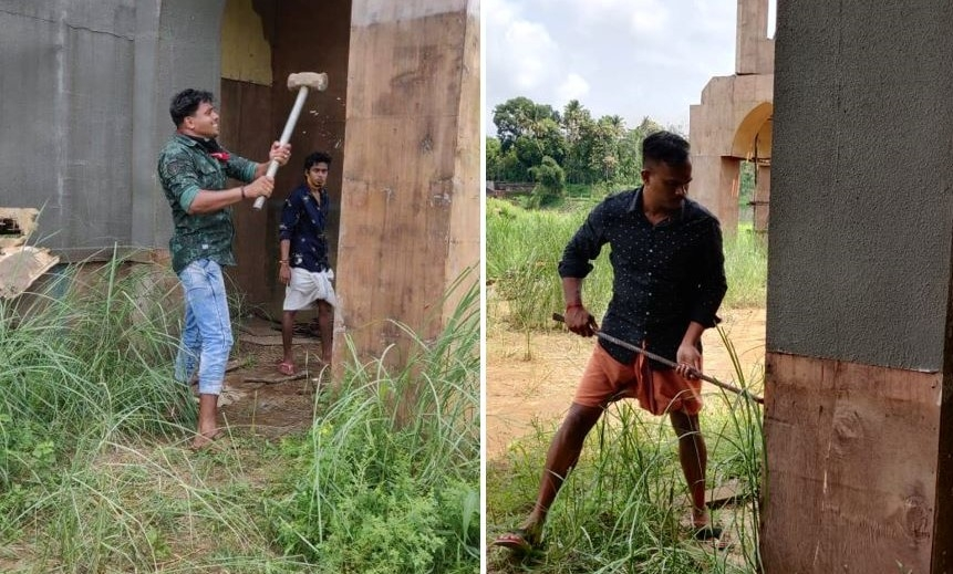 Radicais hindus vandalizam bastidores de filme e destroem igreja cenográfica