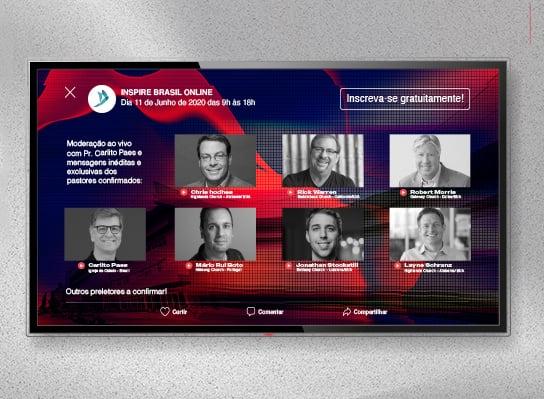 Rick Warren e Robert Morris estarão em conferência online para o Brasil