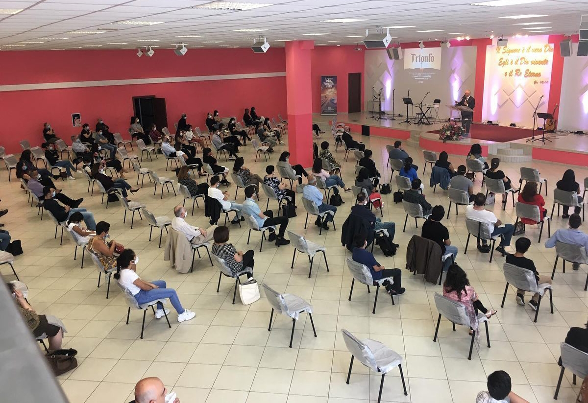 Igrejas evangélicas são reabertas na Itália, epicentro do coronavírus na Europa