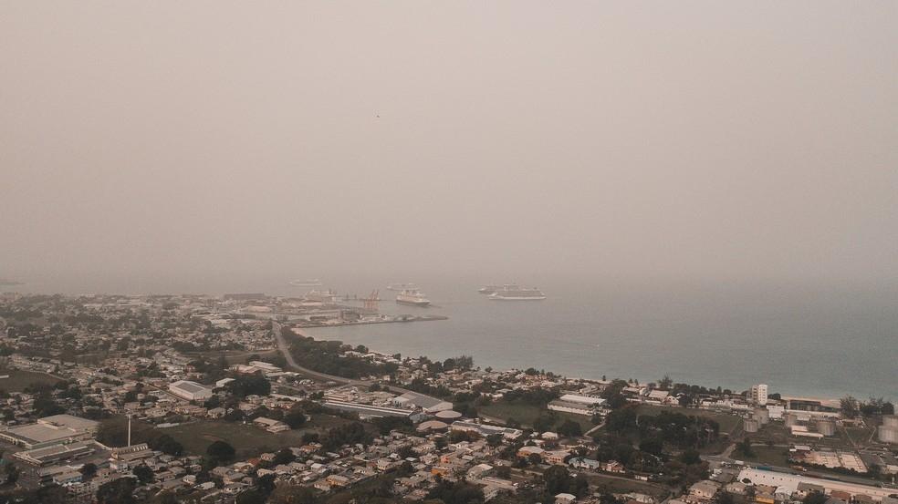 Nuvem de poeira do Saara se aproxima dos Estados Unidos em meio à pandemia