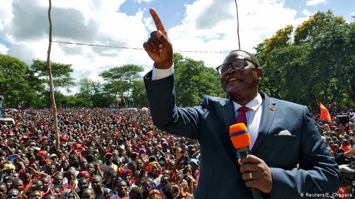 Novo presidente do Malawi diz que foi chamado por Deus para pastorear a nação