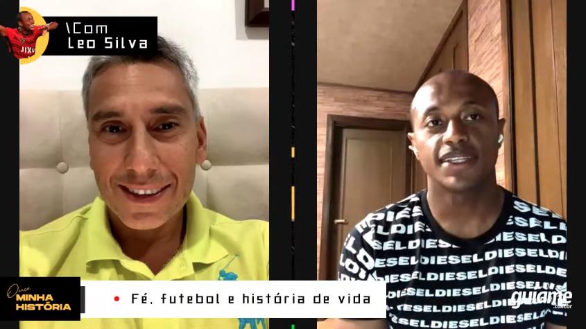 """""""Deus mudou a minha vida e me tornou um atleta melhor"""", diz jogador Leo Silva"""